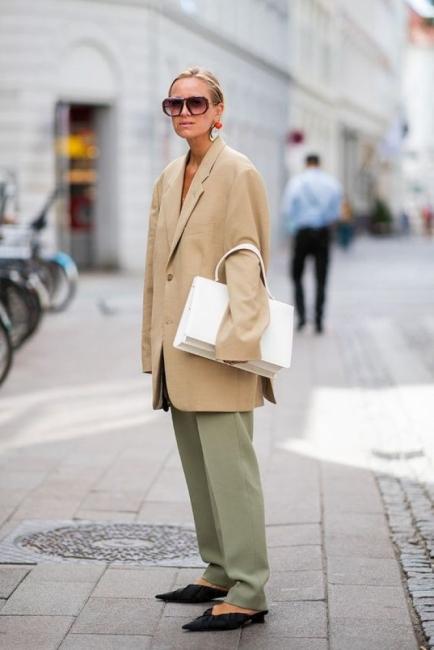 Мъжкото сако в дамския гардероб: 23 идеи как да го носим