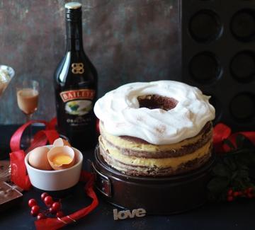 Домашна торта с крем Bаileys и неустоим сладък вкус на печена тиква