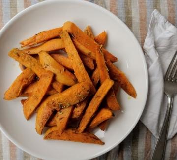 Вкусно по природа: Ароматни печени сладки картофи
