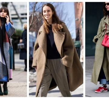 Oversize палтото и как да го носим в 26 стайлинг идеи
