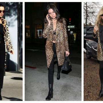 С леопардово палто като топмоделите: откъде да си го купим изгодно