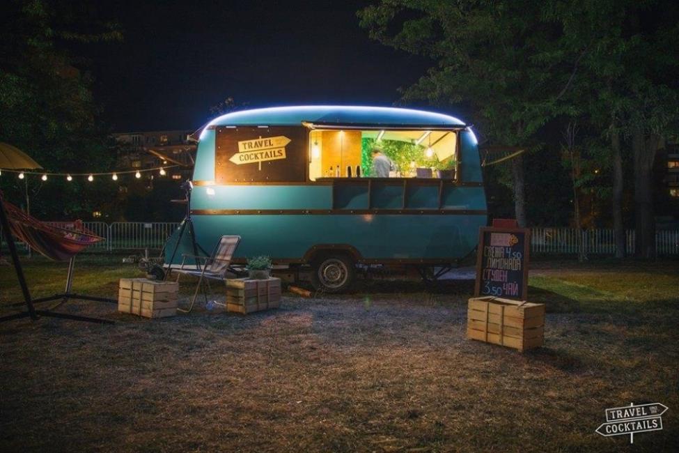 Втори Sofia Food Truck Fest. Там сме.