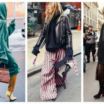 26 стайлинг идеи как да комбинираме суитшърт и рокля, без да се налага да избираме само едно от двете