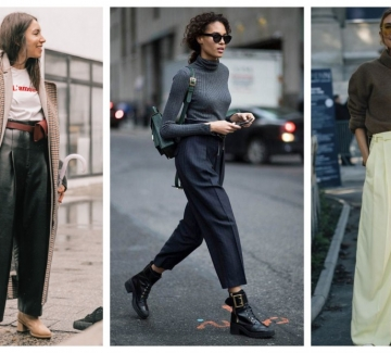 Особености на панталона с басти и начини на употреба: 24 стайлинг идеи