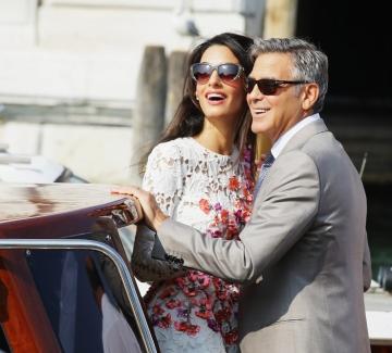 Амал и Джордж Клуни - разказана любов