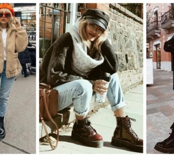 Обувките, които не излизат от мода: Dr. Martens в 31 стайлинг идеи