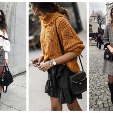 29 стайлинг идеи как да носим мини дължини в студените дни