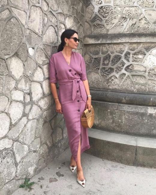 Най-женствената и елегантна рокля: 24 стайлинг идеи