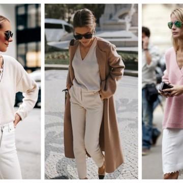 21 стайлинг идеи как да носим кашмирен пуловер