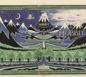 Толкин не само е разказал за Средната земя, нарисувал я е!