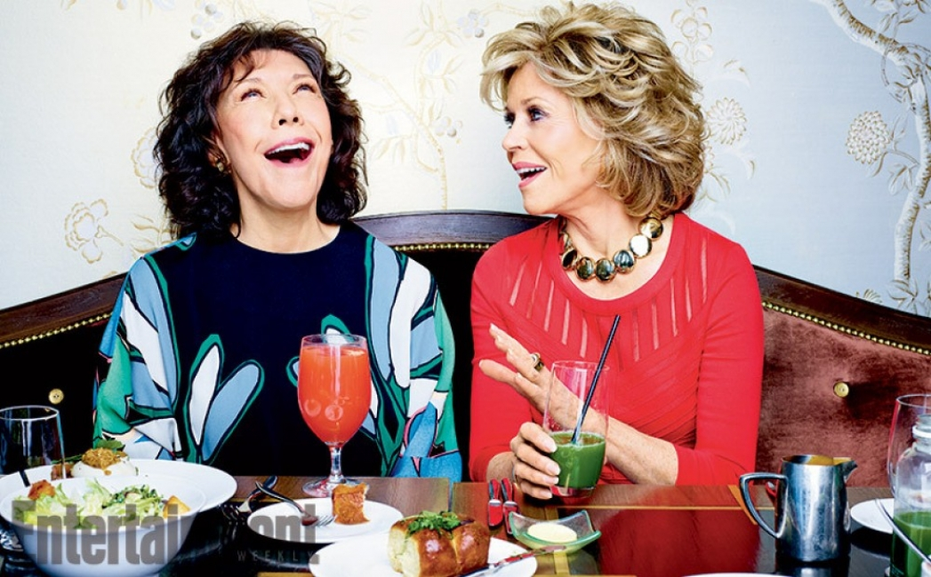 Джейн Фонда и Лили Томлин – необичайни за Холивуд