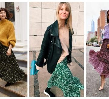 Вечна неразделна любов: пола+пуловер в 24 стайлинг идеи