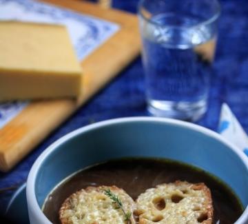 Вкусът на Франция: Френска лучена супа