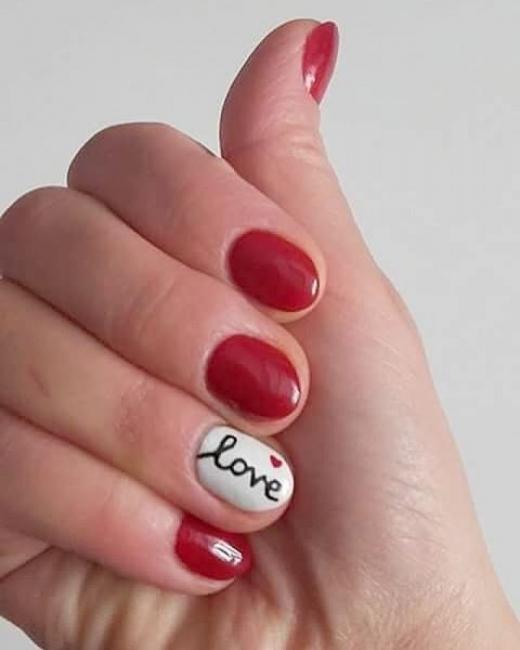 Маникюр за Св. Валентин: 29 романтични идеи