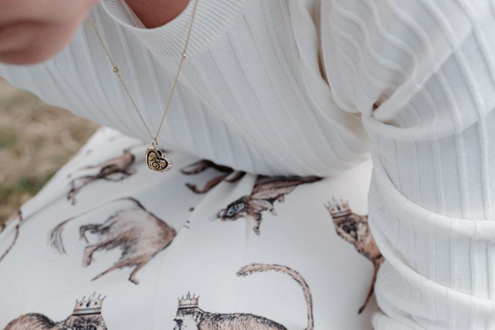 18 карата любов, вдъхновена от Климт
