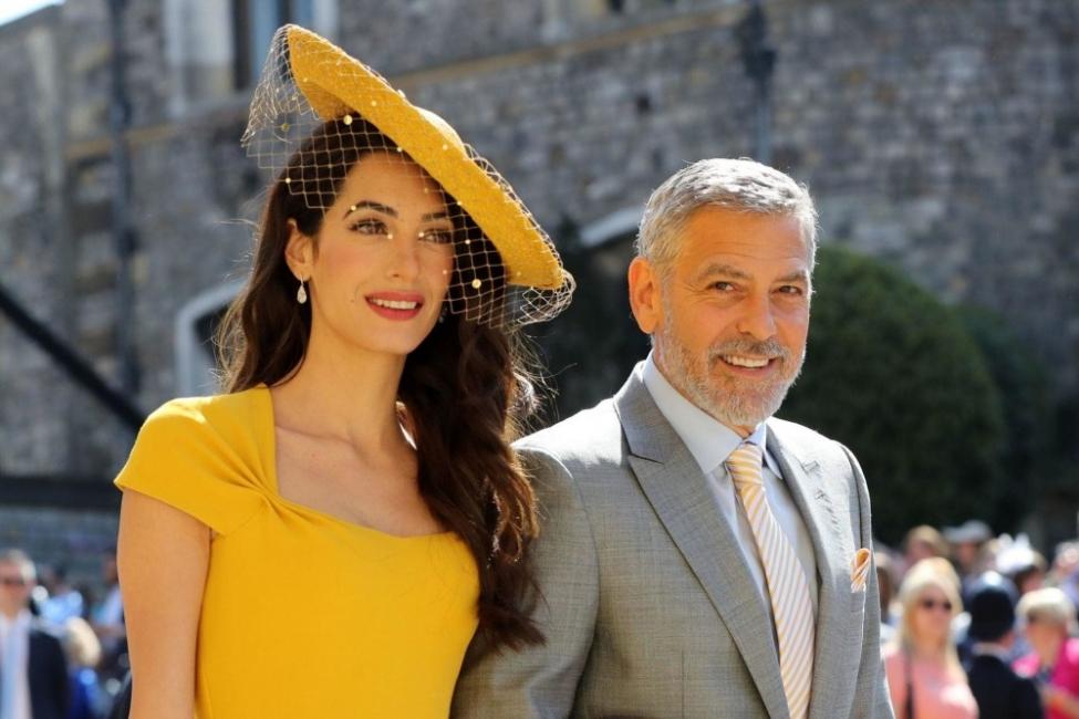 Джордж Клуни смело защити Меган и я сравни с принцеса Даяна