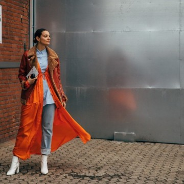 Когато скандинавките се обличат цветно: 29 стайлинг идеи