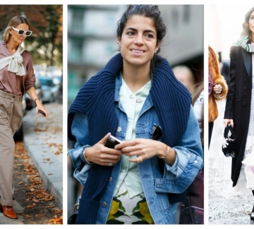 Как да носим пуловера през рамо този уикенд: 21 стайлинг идеи