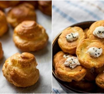Вкусът на Франция: Солени миниеклери