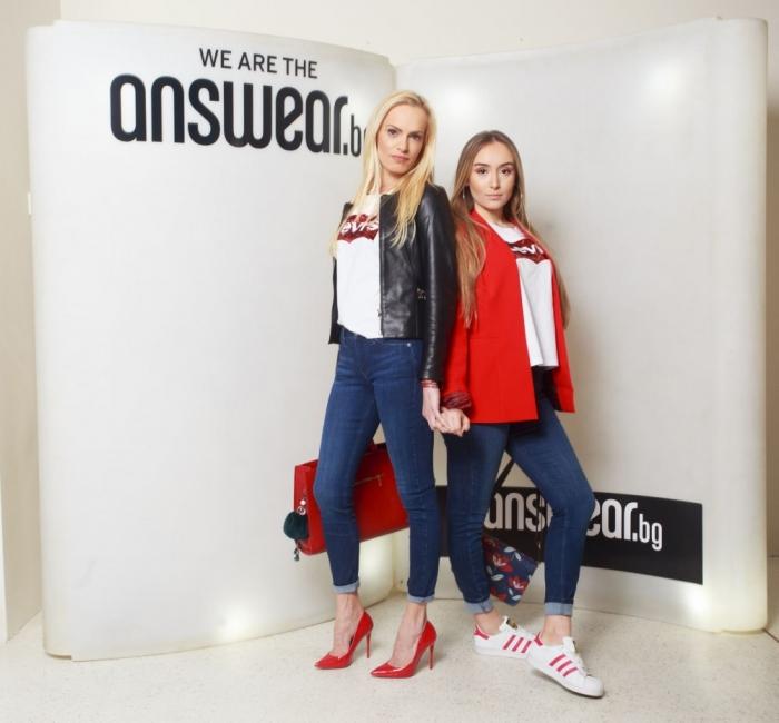 Белослава и дъщеря й Божидара заедно на модно парти