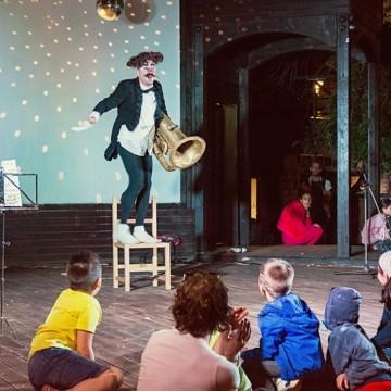 Цирк с кауза: Мини арт пролет