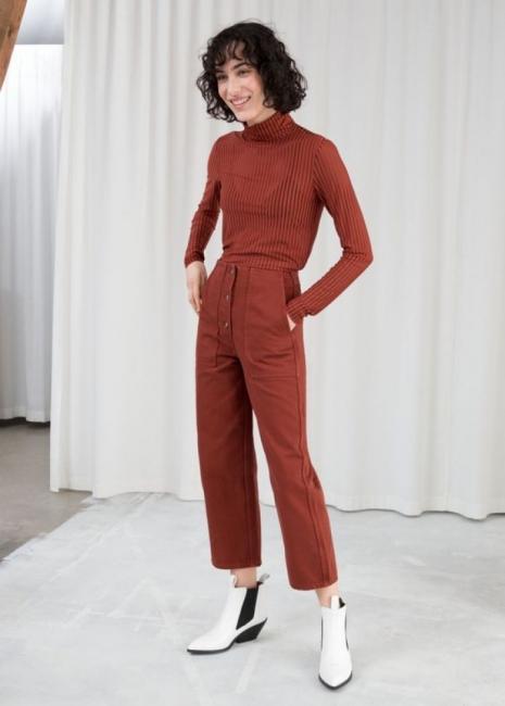 Детайлът, който преобразява панталони и джинси: 19 стайлинг идеи