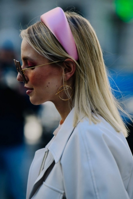 Завръщането на диадемата: 22 идеи как да я носим