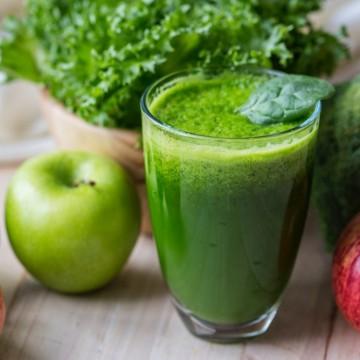 Вкусно по природа: Зелено смути