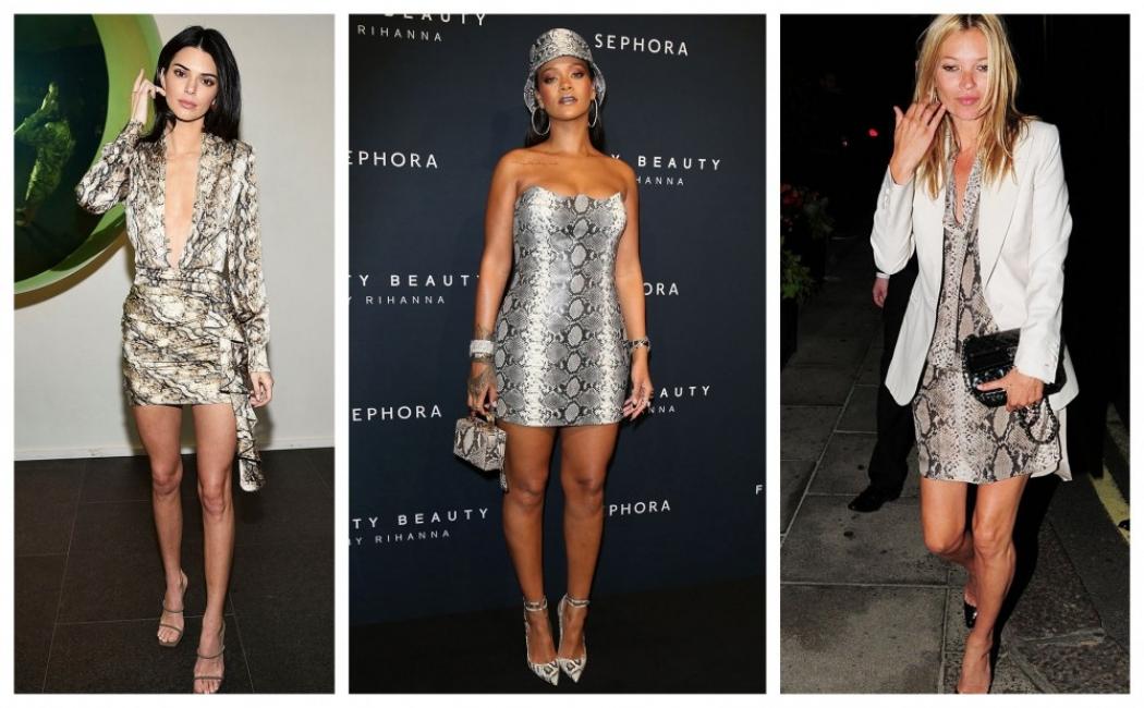 6 шопинг находки: рокли в змийски принт