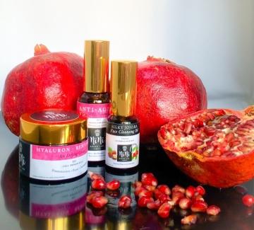 Винаги здрави и красиви с чиста органична козметика с нар