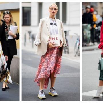 Как да носим пола през пролетта: 23 стайлинг идеи