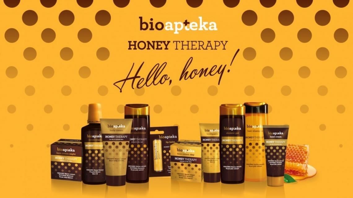 Подаряваме ви цялата серия продукти на Bioapteka Honey Therapy!
