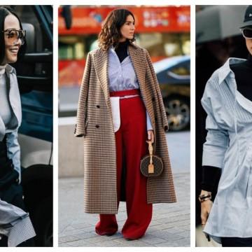 Как да носим поло блуза под риза: 19 стайлинг идеи