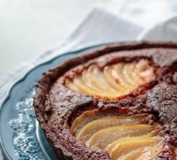 Вкусът на Франция: Шоколадова тарта с круши