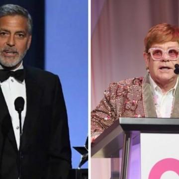 И сър Елтън Джон се присъединява към бойкота на Джордж Клуни