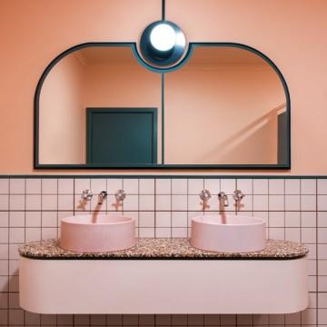След Pink Latte идва и розовата баня
