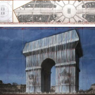Кристо ще опакова Триумфалната арка в Париж!