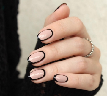 27 идеи за елегантен контур по ноктите