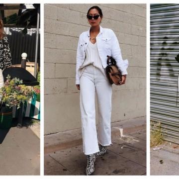 Must have дънките са бели: 23 стайлинг идеи как да ги носим