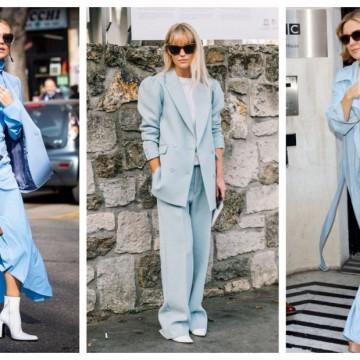 Синьото е най-нежният цвят: 23 стайлинг идеи как да го носим