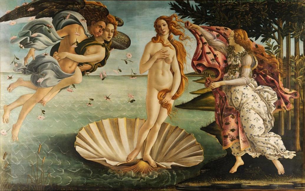 """Защо """"Раждането на Венера"""" е толкова хубава картина?"""