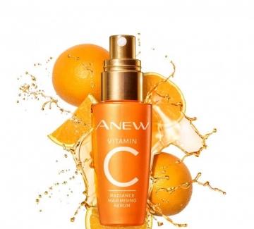 Подаряваме ви озаряващия серум Anew Vitamin С на Avon