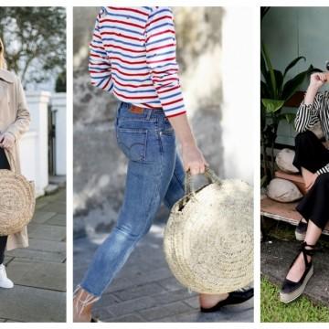 На шопинг за кръгла чанта от естествени материали: 9 модни находки