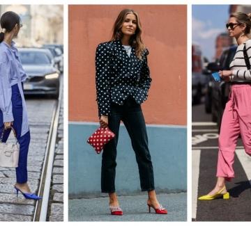 Цветни стъпки по асфалта: 19 стайлинг идеи, в които със сигурност няма да бъдем боси
