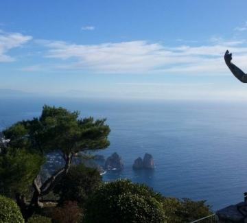История за пътешественици: Капри, лазурният остров