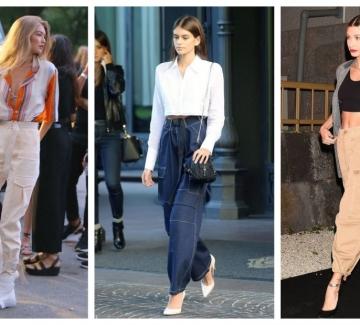 Завръщането на карго панталона: 17 стайлинг идеи как да го носим