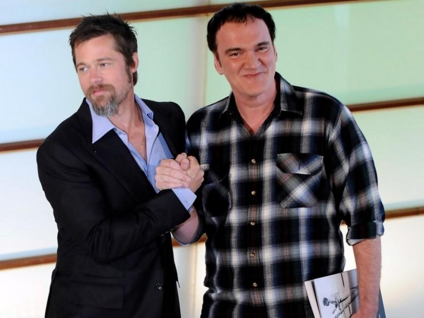 Брад Пит и Леонардо ди Каприо в новия филм на Тарантино