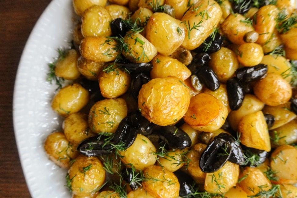 Вкусно по природа: Пролетни картофи по гръцки