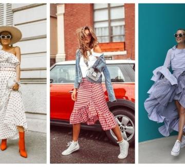 Отново развълнувани: 21 стайлинг идеи как да носим дрехи с волани