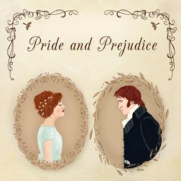"""""""Гордост и предразсъдъци"""" на Джейн Остин"""
